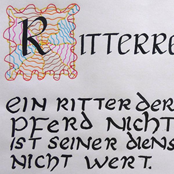 Briefe Schreiben Im Mittelalter : Schreiben wie im mittelalter